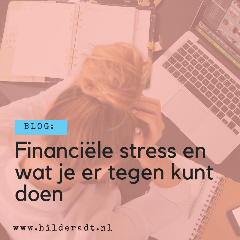 Financiele stress en wat je er tegen kunt doen