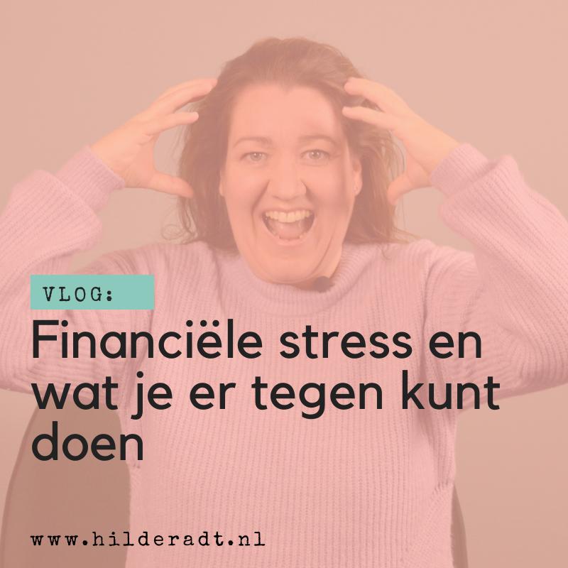 Financiële stress en wat je ertegen kunt doen