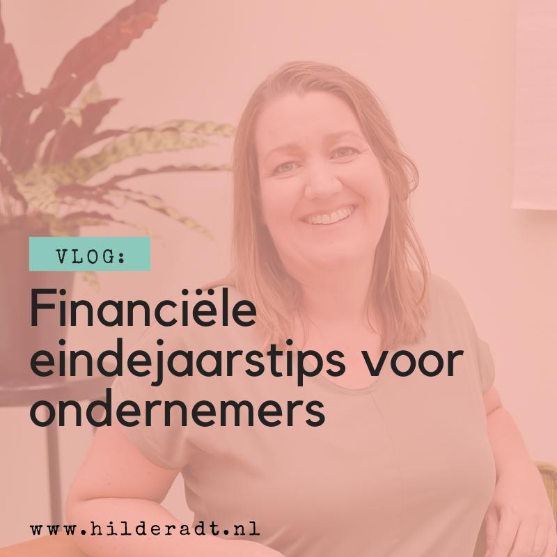 Financiële eindejaarstips voor ondernemers